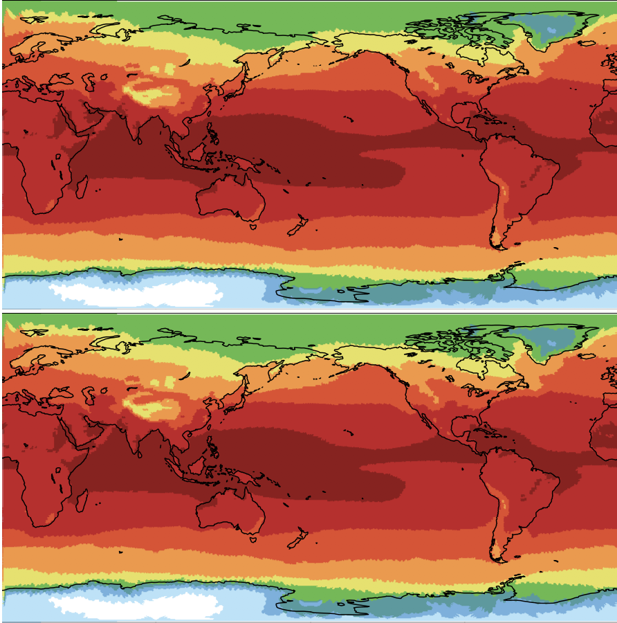 Evaluating Image Quality Measures to Assess the Impact of Lossy Data Compression Applied to Climate Simulation Data
